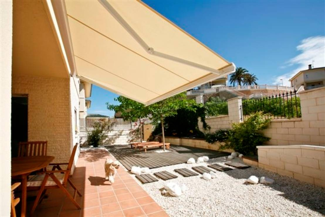 7 fant sticas ideas de toldos para tu patio y terraza On toldo patio