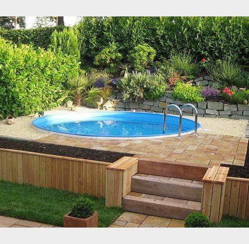 13 piscinas ideales para espacios peque os Diseno de piscinas en espacios reducidos
