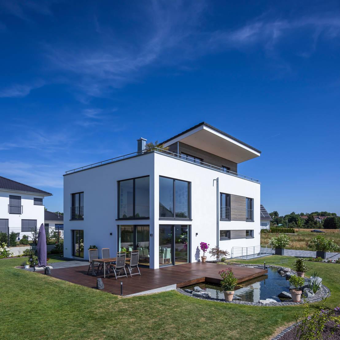 Modern gro z gig und richtig wohnlich ein echtes for Traumhaus modern