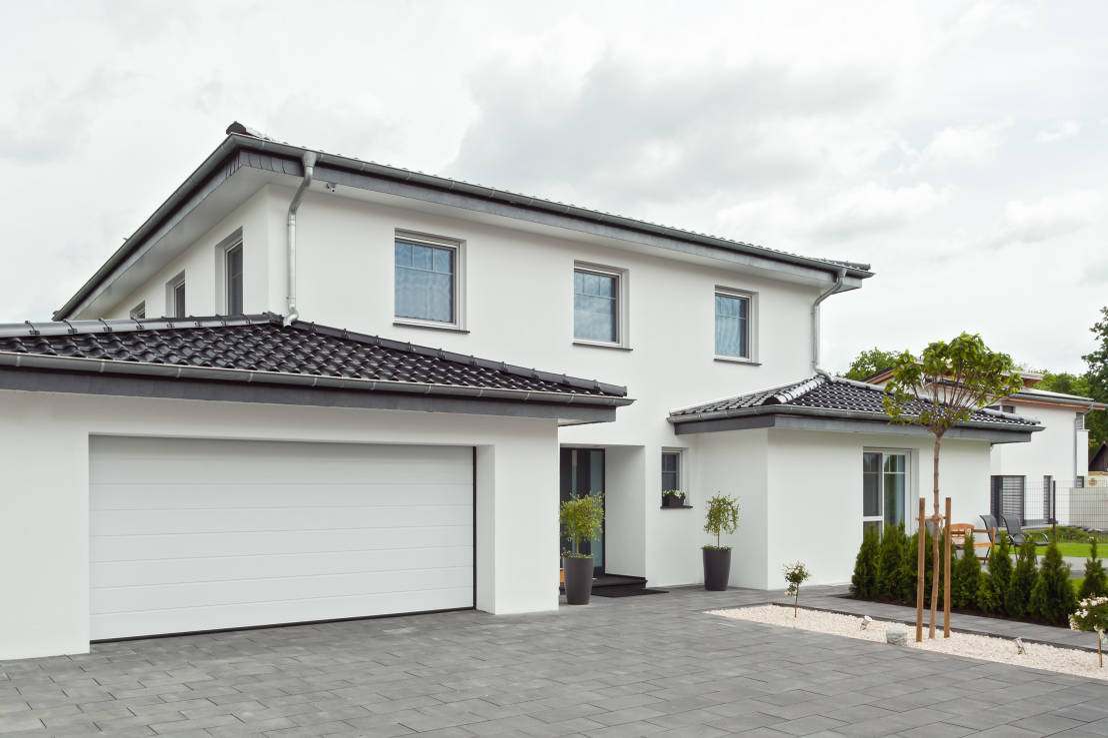 Une maison familiale moderne tr s bien pens e for Maison tres moderne