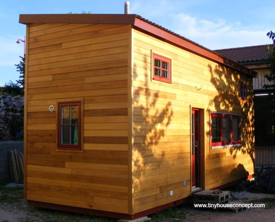 Tiny house concept micro maison s dentaire et d placable - Maison deplacable ...