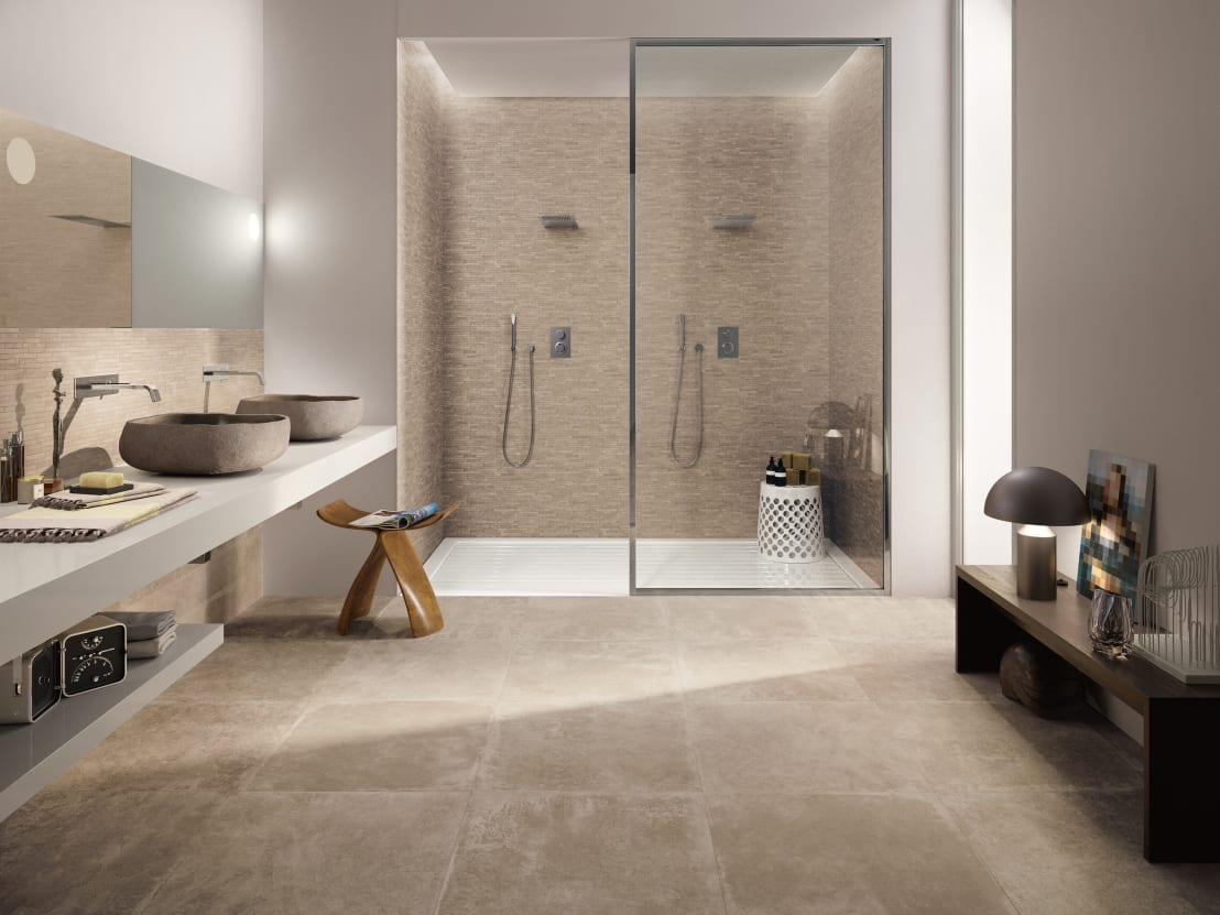 Petra by emilceramica group homify for Carrelage salle de bain point p