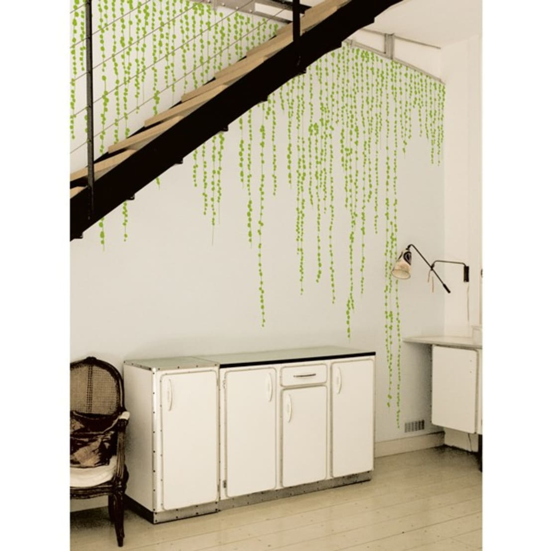 wallstickers jungle peas de ich et kar homify. Black Bedroom Furniture Sets. Home Design Ideas