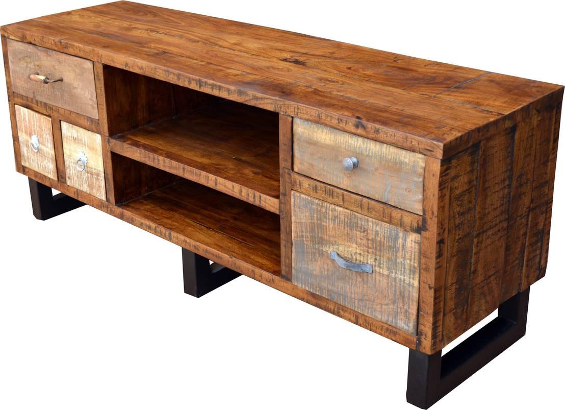 tv m bel aus recyclingholz by guru shop homify. Black Bedroom Furniture Sets. Home Design Ideas