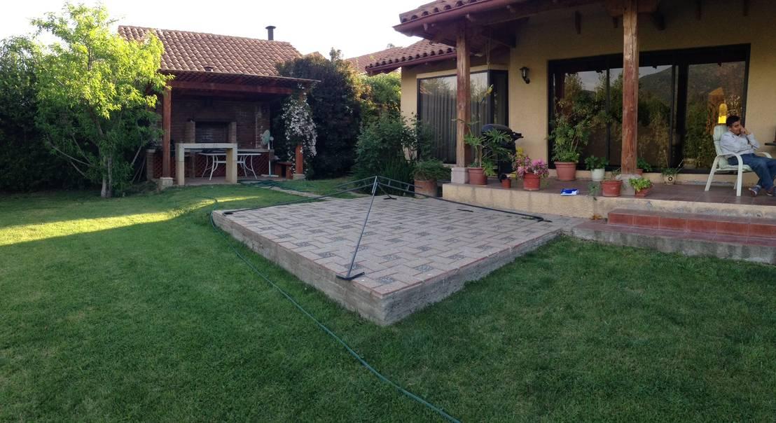 C mo hacer un cobertizo de madera en la terraza paso a paso for Cobertizo de madera para terraza