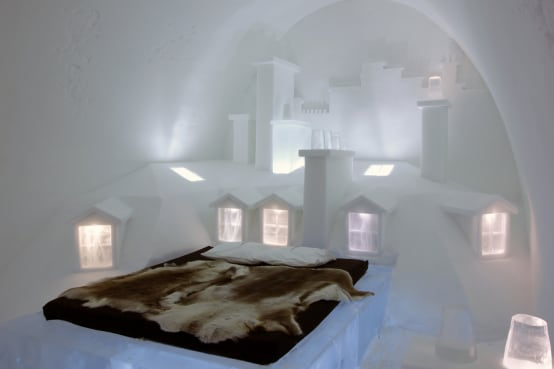 icehotel jukkasj rvi ein eishotel in schweden. Black Bedroom Furniture Sets. Home Design Ideas