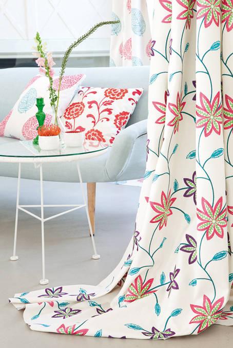 vorh nge n hen ganz ohne nadel und faden. Black Bedroom Furniture Sets. Home Design Ideas