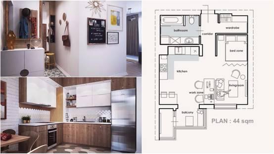 La casa dei sogni diventa reale con soli 45m for Entrate case moderne