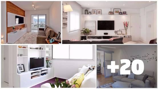 23 idee per arredare un soggiorno piccolo - Idee per arredare soggiorno con angolo cottura ...