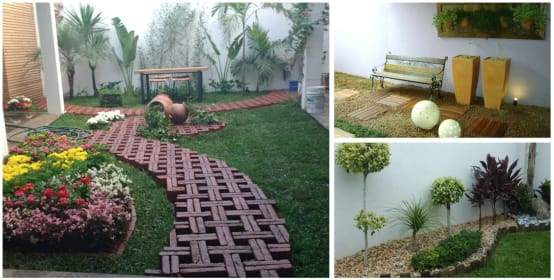 M s de 20 jardines peque os y f ciles de hacer for Jardines pequenos para frentes de casas