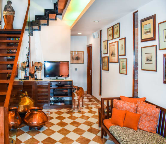 Traditional Interiors for a Modern Apartment in Gurugram