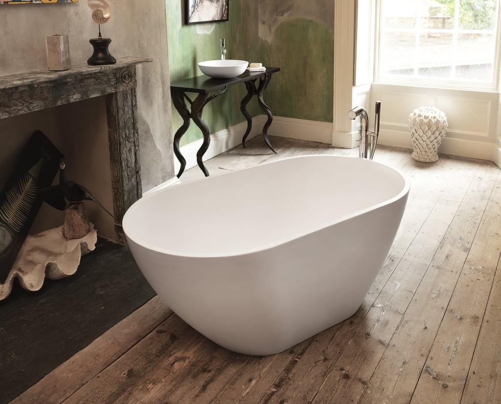 Mist Stone Bath Di Waters Baths Of Ashbourne Moderno