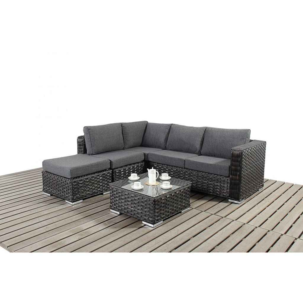 Black Rattan Corner Sofa Images White Leather