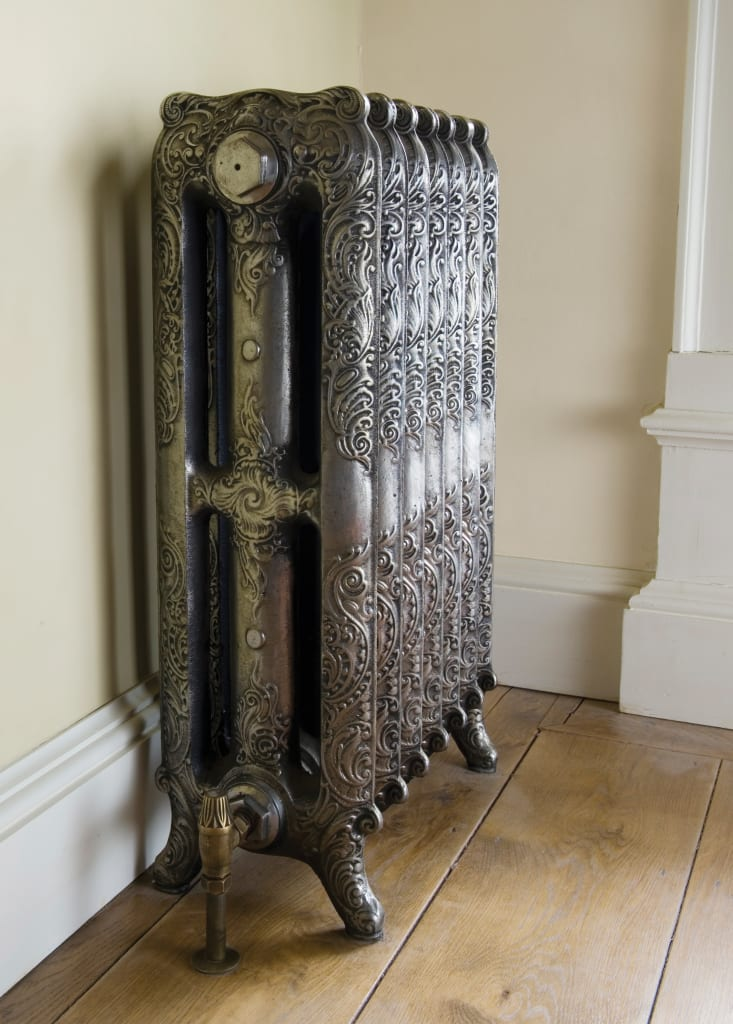 Cast iron radiators can infrared heaters heat a house