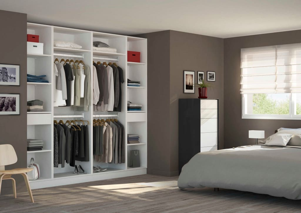 vestidores de estilo por homify. Black Bedroom Furniture Sets. Home Design Ideas