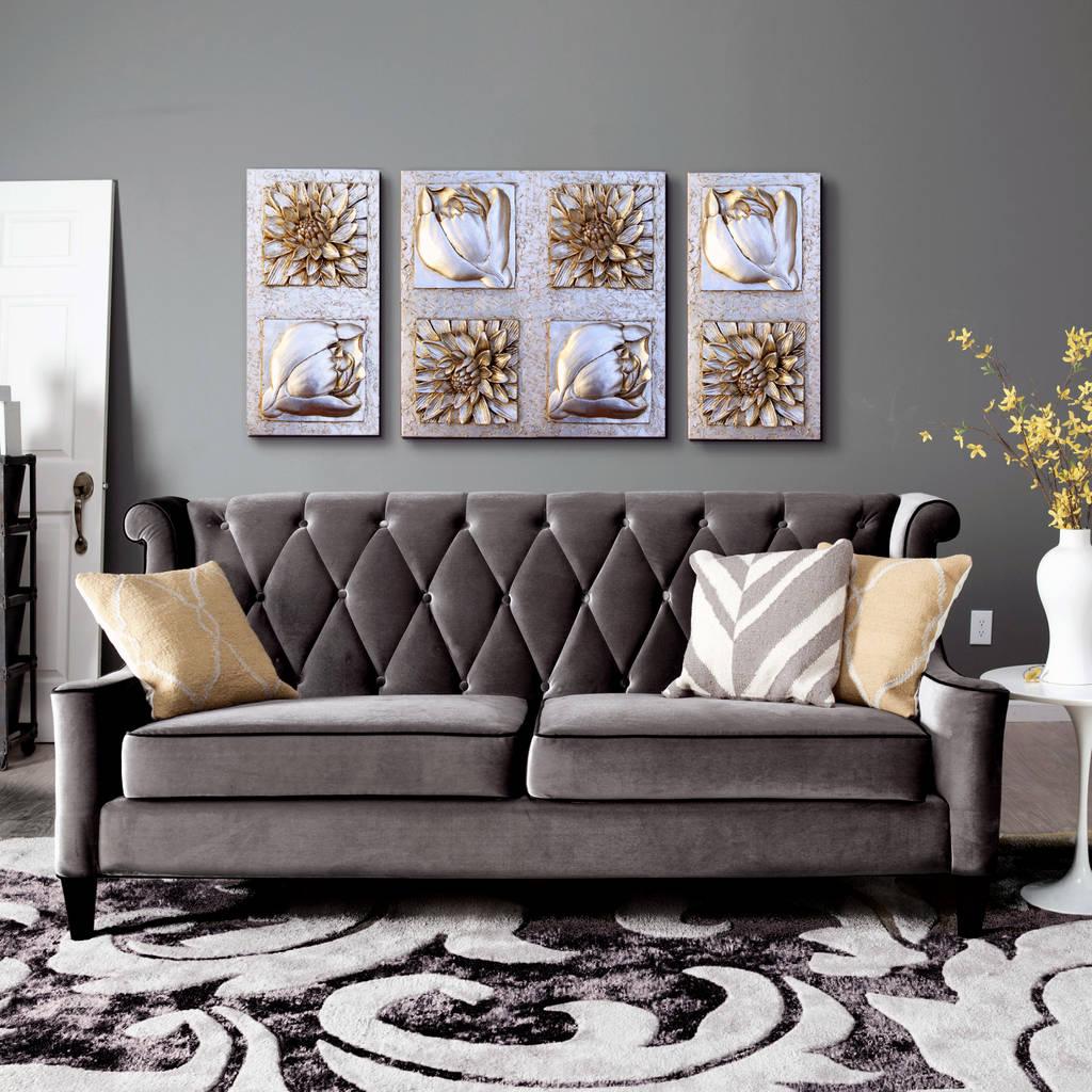 Fotos de decoraci n y dise o de interiores homify for Cuadros tripticos online