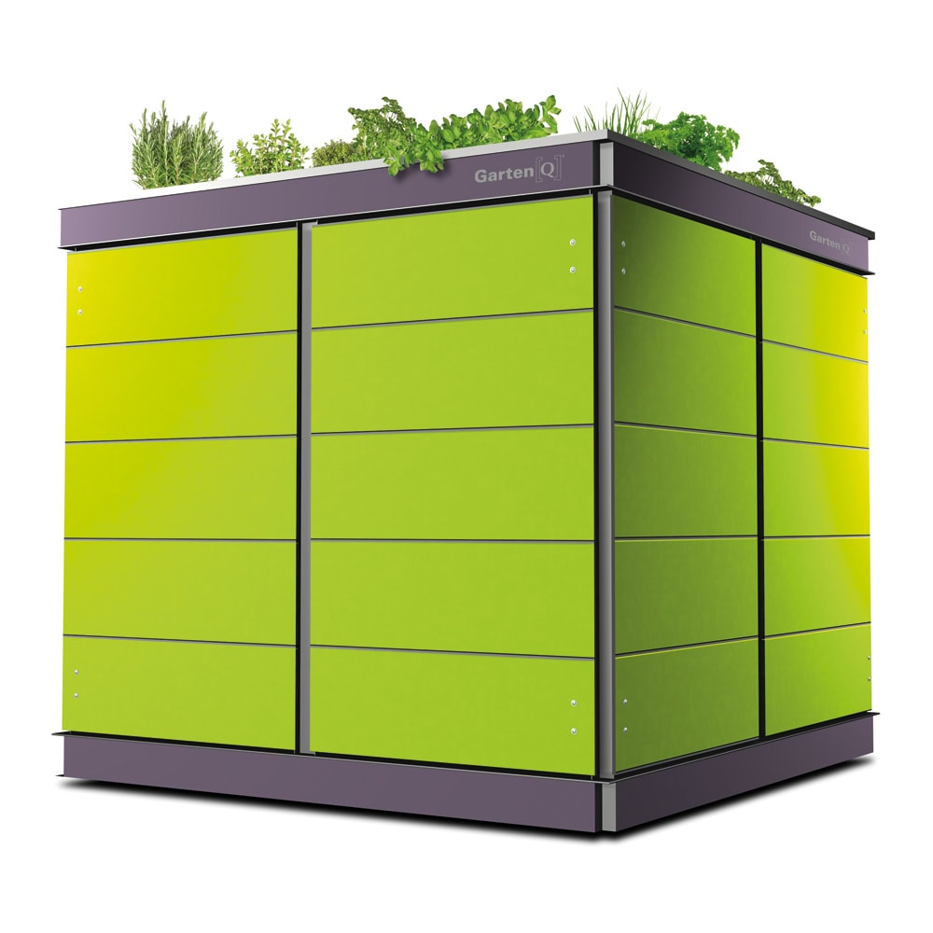 moderne garage/schuppen bilder: gartengeräte-haus modern mit, Gartengerate ideen