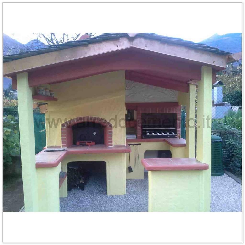 Barbecue In Muratura Immagini forni e barbecue in muratura di arrecocemento mediterraneo