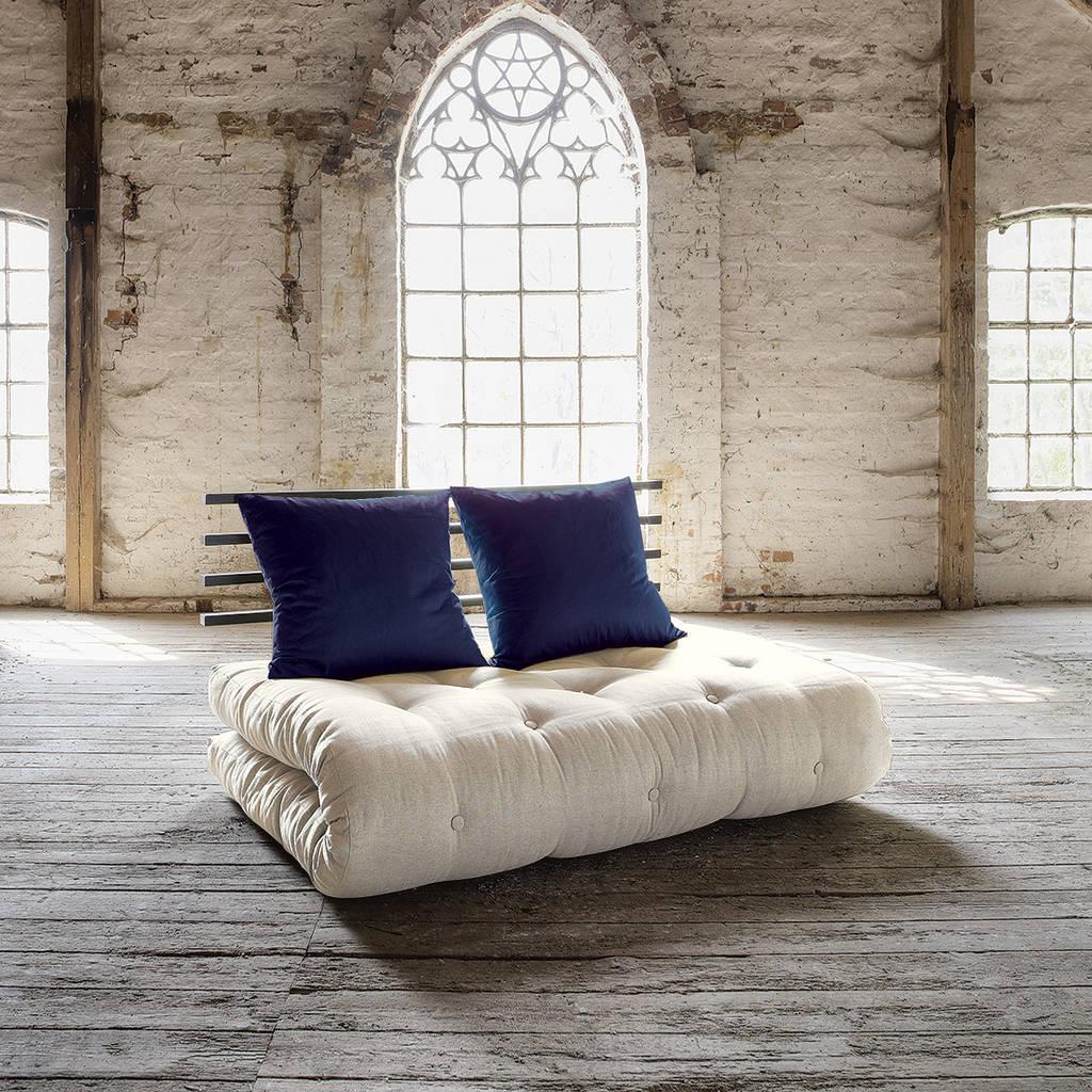 asiatische wohnzimmer bilder futon schlafsofa sagano. Black Bedroom Furniture Sets. Home Design Ideas