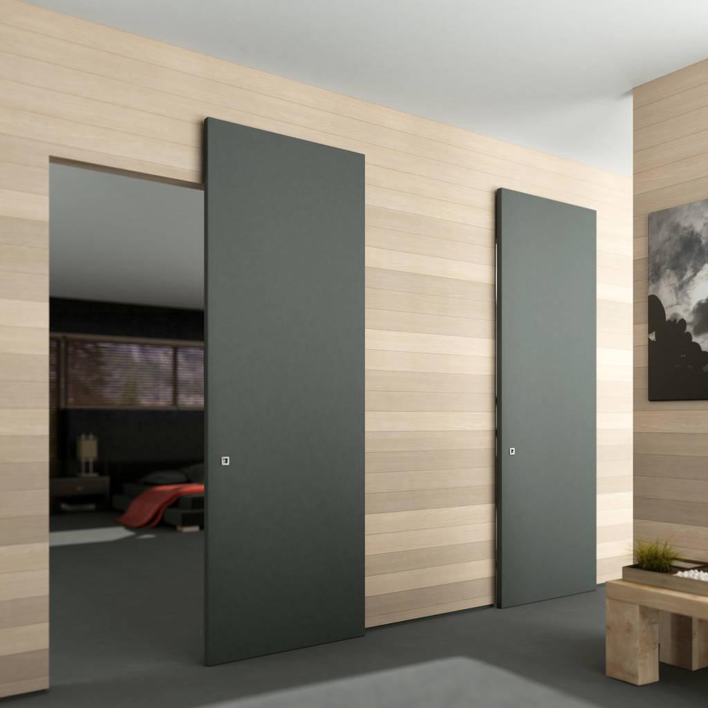 Foto di finestre porte in stile in stile minimalista scorrevole esterno muro senza binario a - Aprire finestra muro esterno ...