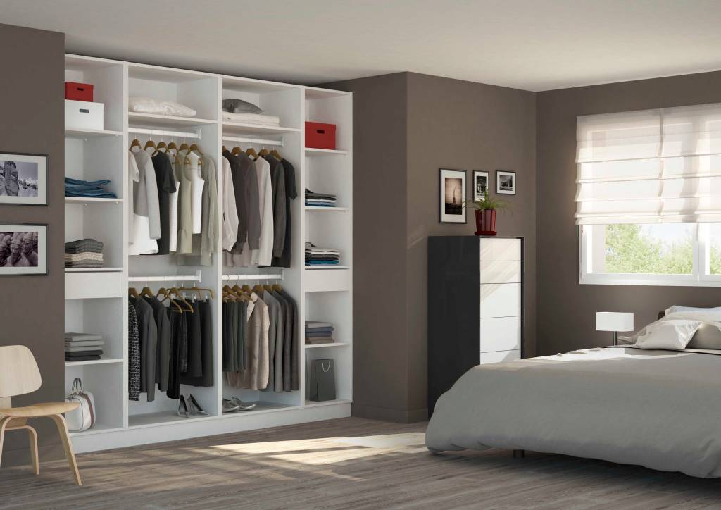 Photos de dressing de style de style minimaliste placard for Photos dressing chambre