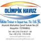 Olimpik Havuz Makina Tesisat ve İnşaat San Tic. Ltd ve Şti. Avatar
