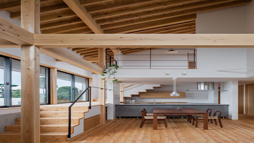 7 Desain Unik Untuk Rumah Berplafon Tinggi Homify