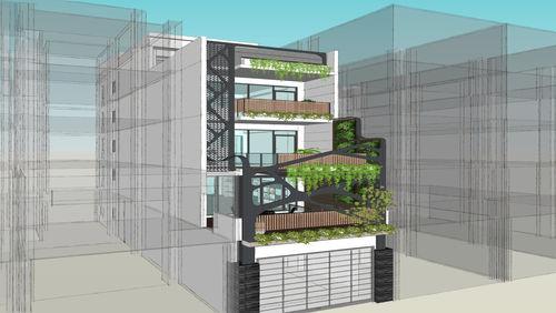 會呼吸的現代森林:台中豐原的節能綠建築