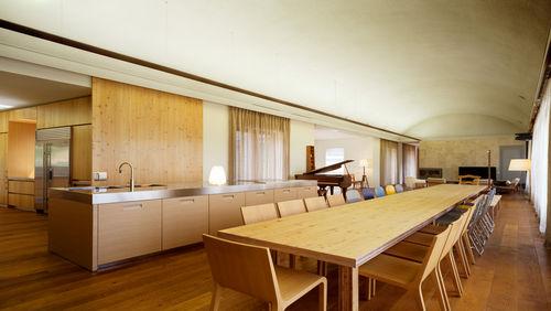 둥근 아치 천장 아래 자연의 생동감을 느끼다, 경기도 용인시 전원주택