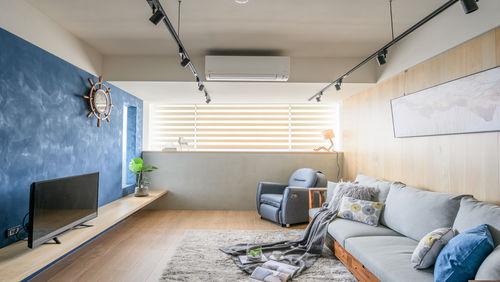 優雅的重生:台北設計師的頂樓老屋翻修美作