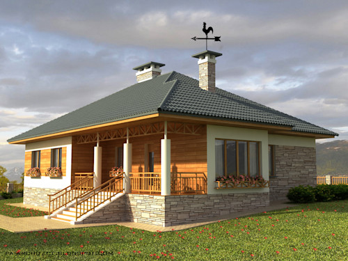 6 Comfortable And Easy To Build Modern Bungalows Homify
