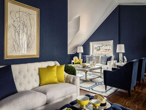10 colores fabulosos para pintar las paredes de tu pequeño salón