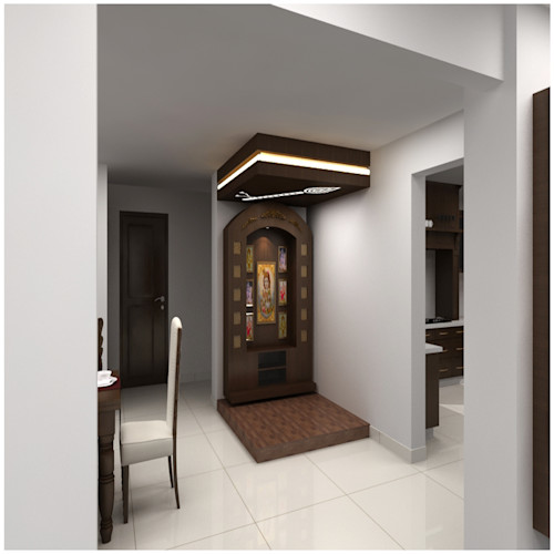 7 Beautiful Pooja Room Designs Homify Homify
