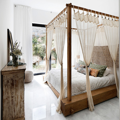 5 Inspirasi Dekorasi Kamar Tidur dengan Kelambu Cantik   homify