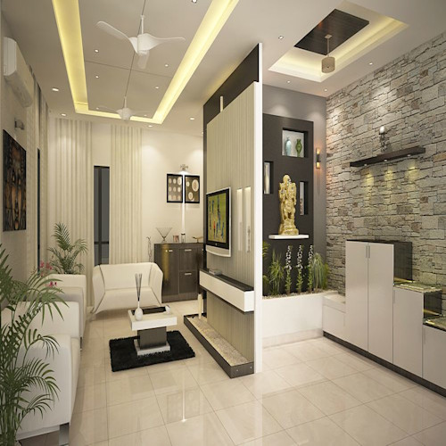 9 Amazing Partition Ideas For Indian Home Homify
