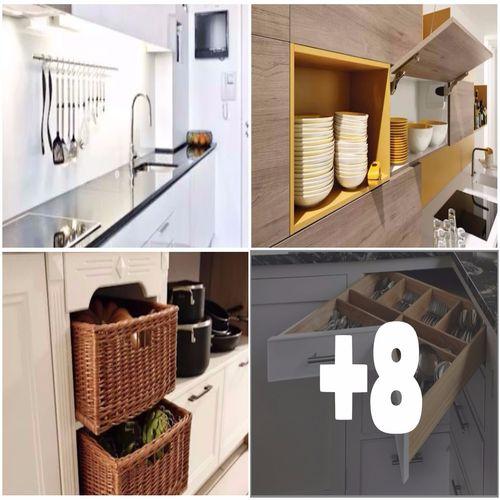 Come Organizzare al Meglio una Cucina Moderna (11 Idee)