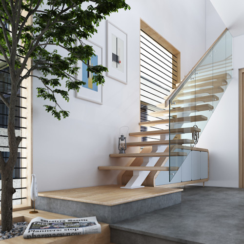 Compact Staircase Ideas For Small Houses Homify
