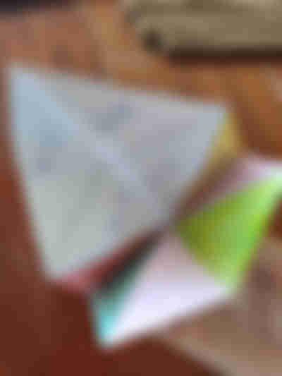 折り紙パクパクの遊び方