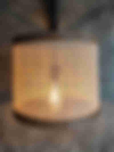 Lámpara casera lista