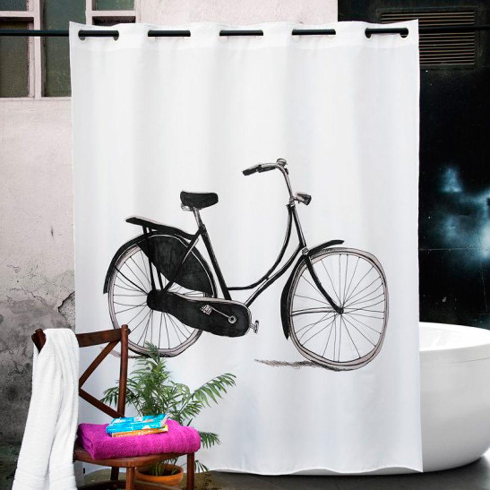 Cortina ducha bicycle