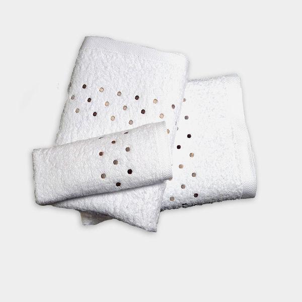 3 piezas bordado aridane juego de toallas 2 61757