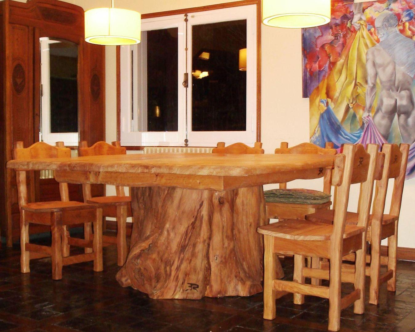 Mesas de comedor tienda online homify for Mesas rusticas comedor