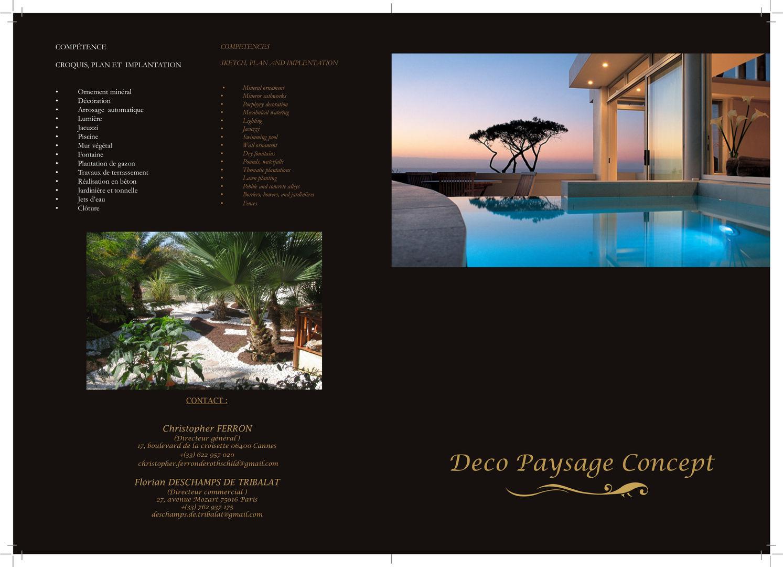 Paysage Concept deco paysage concept marbella: architectes paysagistes à marbella