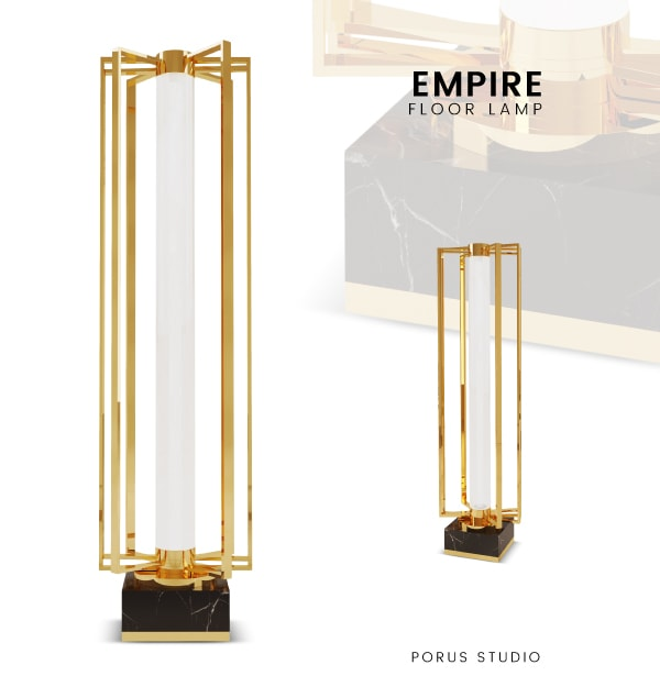 Emotional brands homepage banner empire floor lamp