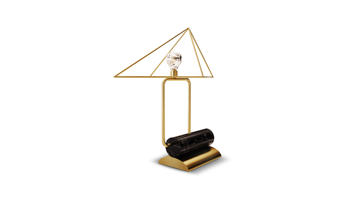 White house table lamp 1