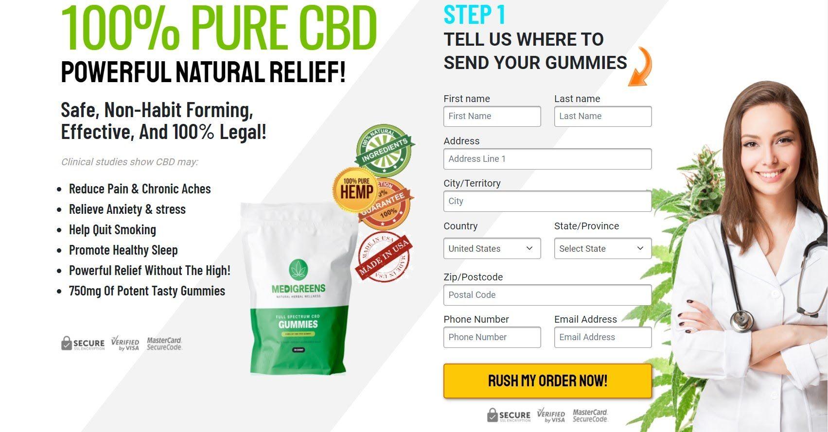 The Functioning Of Medi Greens CBD Gummies ! | homify