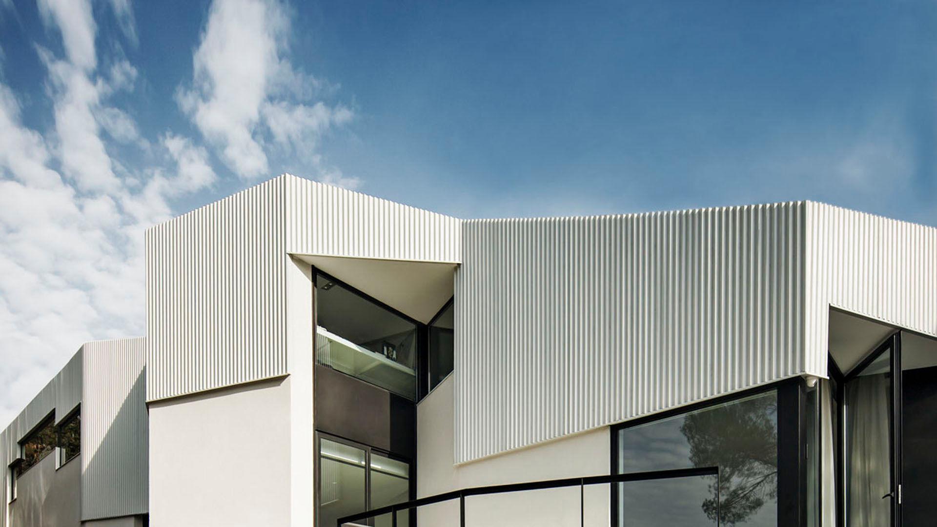 Qu material escoger para una fachada