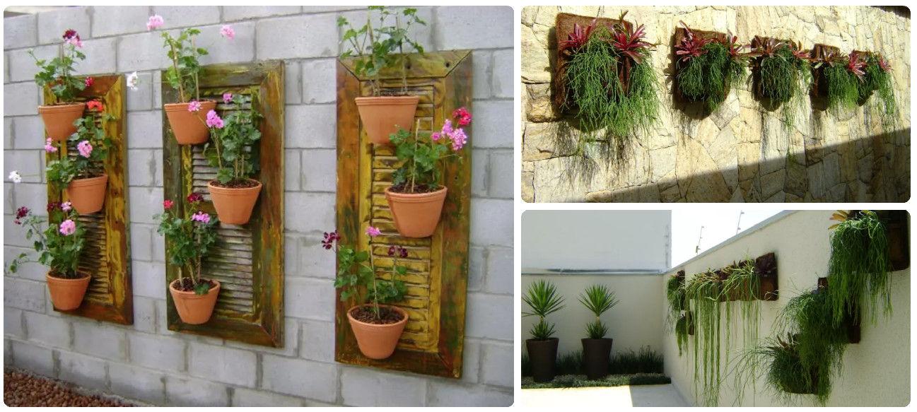 Casi 40 jardines pequeos y econmicos para decorar tus paredes