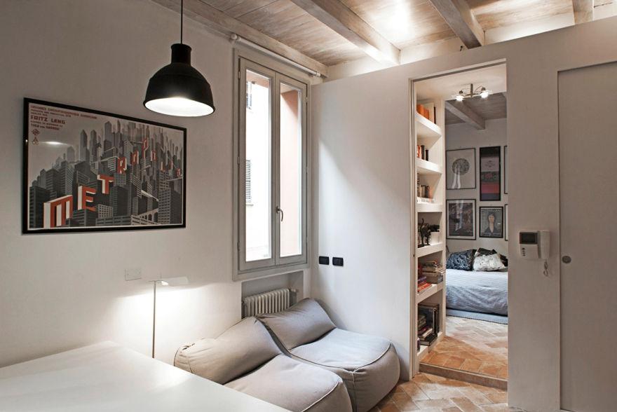 Arredare una casa piccola 3 esempi in poco spazio - Arredare monolocale ikea ...