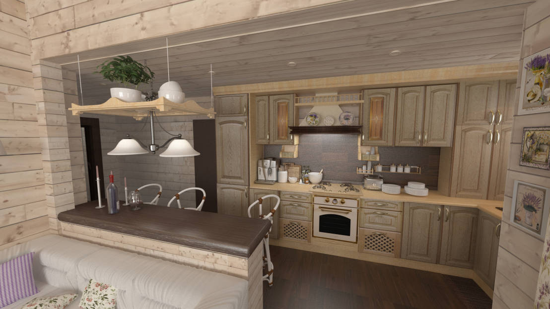 Immagini Di Cucine Country. Perfect Cucina Stile Country Tempora ...